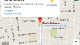 Mapa Mundo Calavera 2015